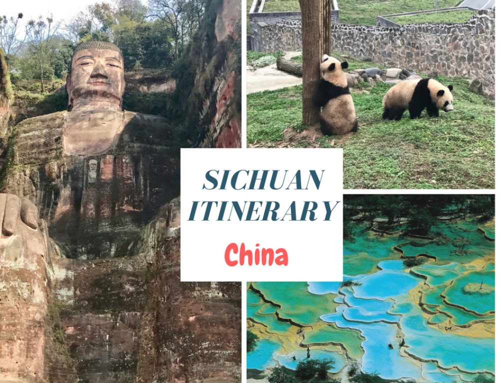 Sichuan Itinerary